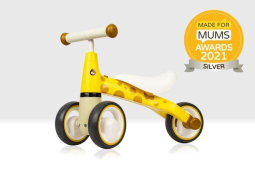 Giraffe Balance Bike Made for Mums Award Silver Winner 2021