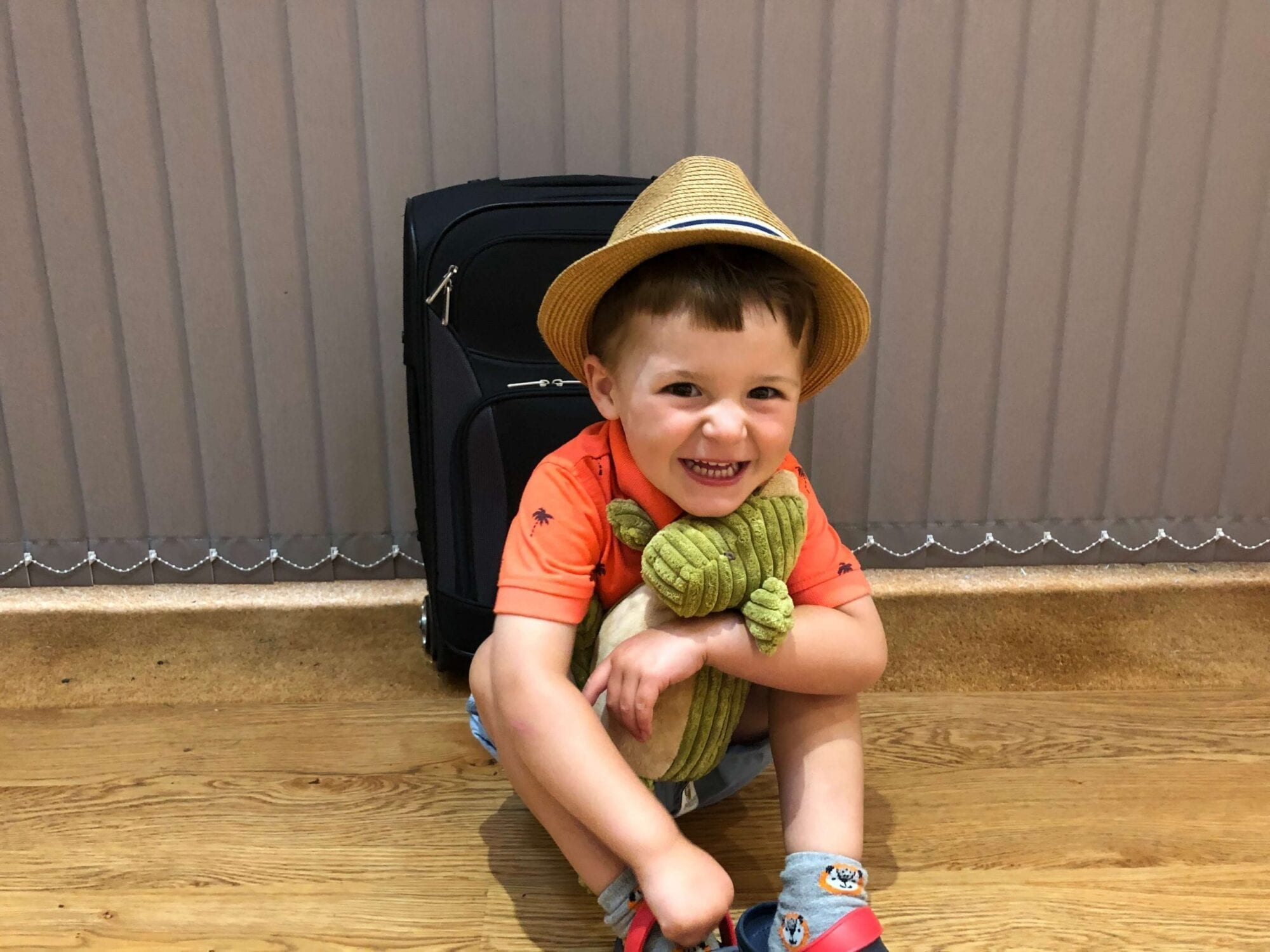 Flying with a Toddler this Summer