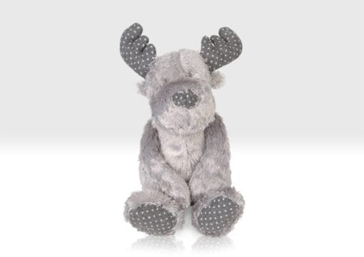 Front view of the Reindeer soft toy