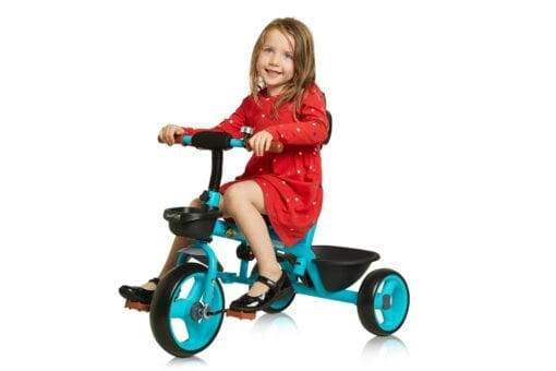 Blue Trike with Handle