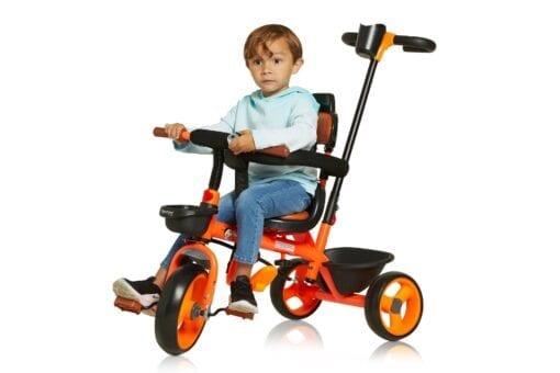 Orange Trike with Handle
