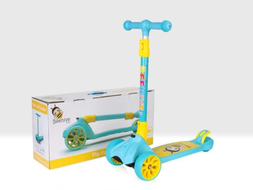 folding scooter blue | Beehive Toy Factory