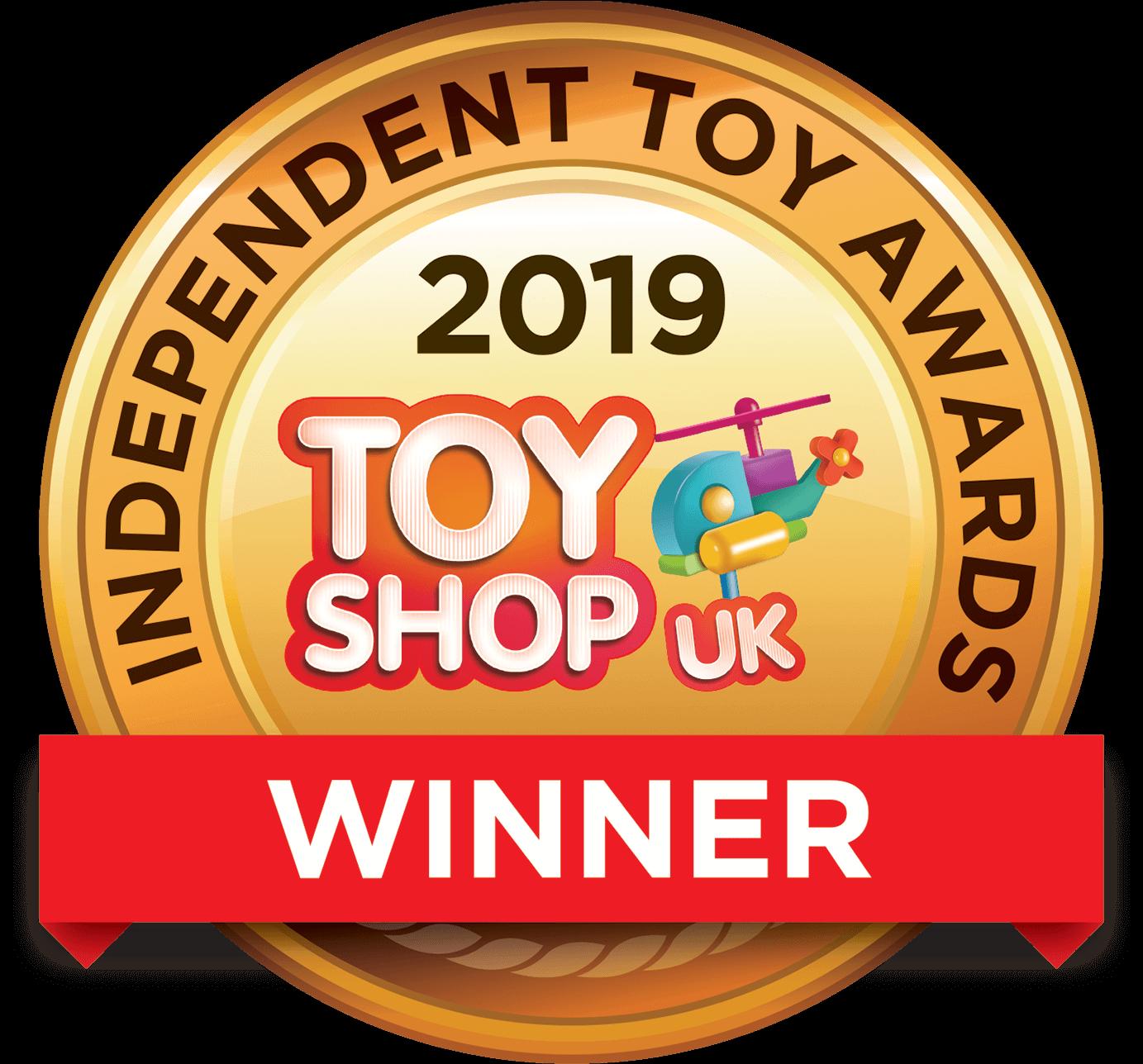 Toy Shop UK Gold winner 2019