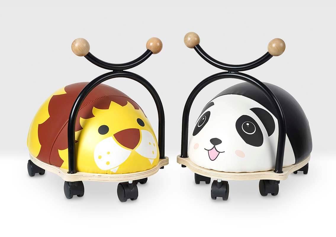 Lion and Panda Balance Bugs