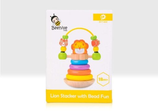 Lion stacker in box