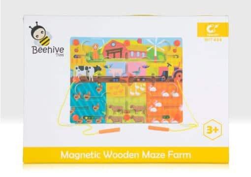 Magnetic farm maze