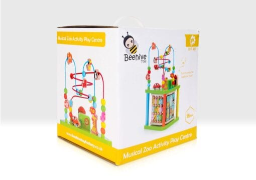 Musical activity centre in box