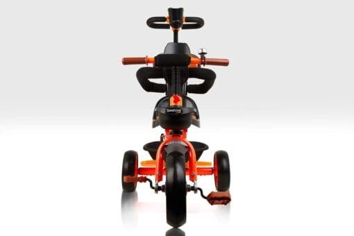 Orange Trike with Parent Handle