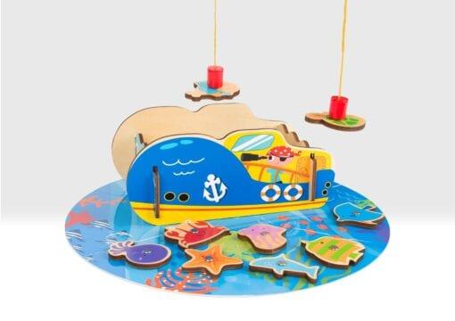 Pirate fishing game