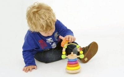What toys can help your child to develop their fine motor skills?