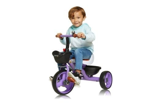 Purple Trike with Boy