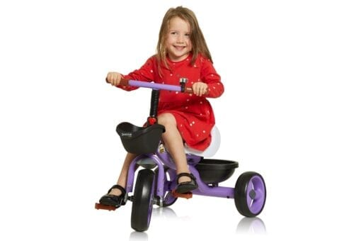 Purple Trike with Girl