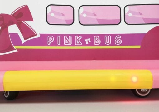 ride on pink bus | Beehive Toy Factory