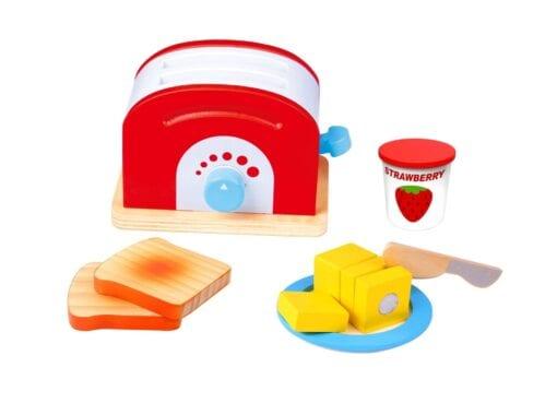 Toy toaster set