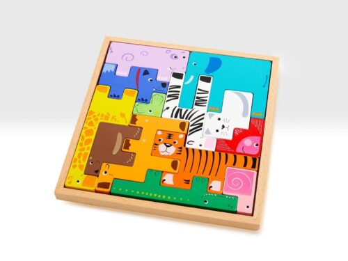 Animal Building Block Puzzle
