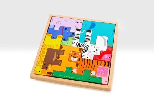 Animal Building Block Puzzle