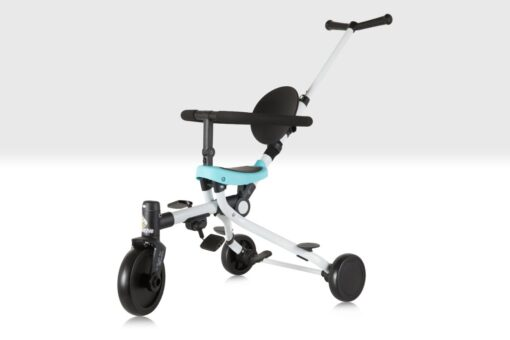 2 in 1 Push Tricycle Blue