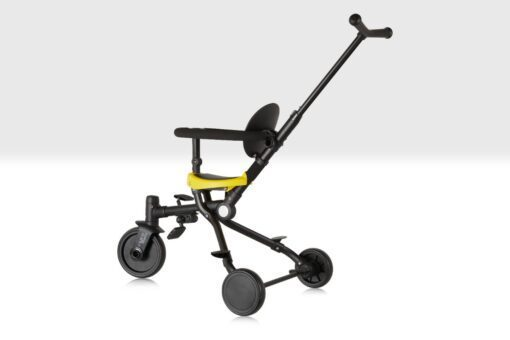 2 in 1 Push Tricycle side