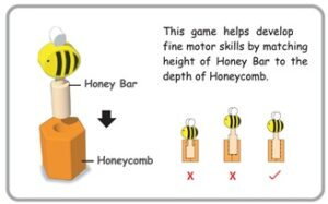 How to play Beehive Memory Matching Game