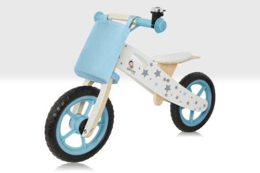 Blue Balance Bike with stars