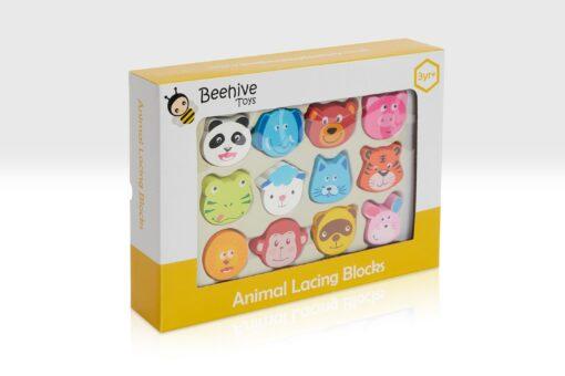 animal lacing blocks