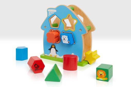 shape sorter house